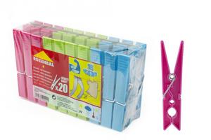 Rozenbal Plastic Cloth Pegs 1set