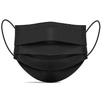 Yamak Surgical Black Face Mask 30s