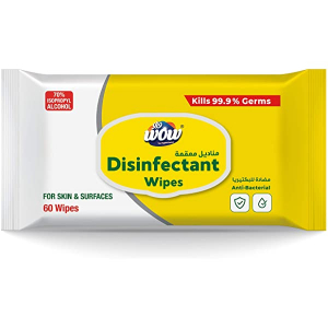 Wow Disinfectant Wipes 60s