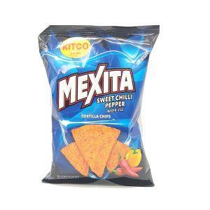 Kitco Mexita Sweet Chilli Pepper Tortilla Chips 180g