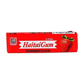 Haitai Chewing Gum Strawberry 14g