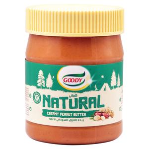 Goody Natural Peanut Butter No Sugar 340g