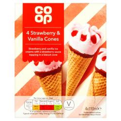 Co-Op Cup Cones 150g
