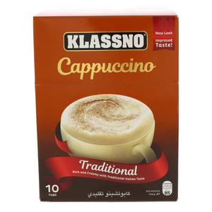 Klassno Cappuccino Traditional 18g