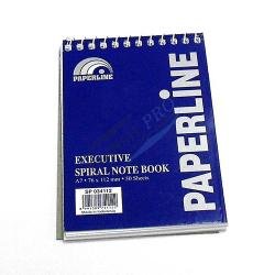 Paper Line Spiral Note Book A7 1pc