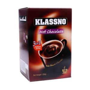 Klassno Coffee 3 In 1 Hot Chocolate 25g