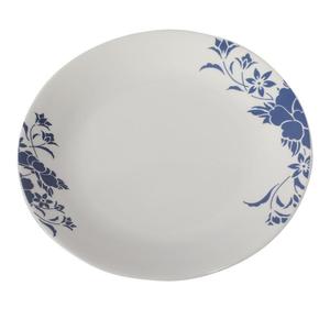 La Opala Plain White Soup Plate 22.5cm 1pc
