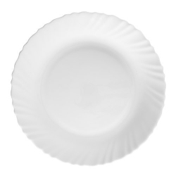 La Opala Plain White Dinner Plate 27cm 1pc