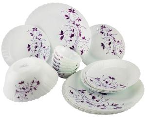 La Opala Dazzle Purple Serving Bowl22.7cm 1pc