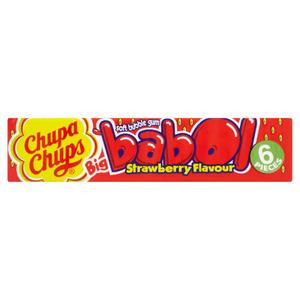 Babol Strawberry Flavour Soft Bubble Gum 25g