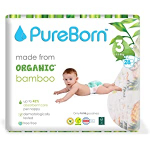 Pure Born Nappy Baby Pants 5.5-8 Kg Size 3