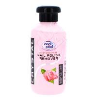 Cool & Cool Nail Polish Remover Rose 100ml