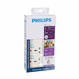 Philips 2 Way Extension 2m 1pc