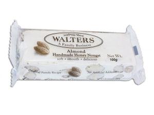 Walters Almond Honey Nougat 50g