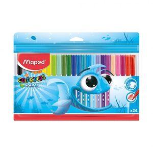 Maped Color Peps Felttipe Ocean 24 Color 1pc