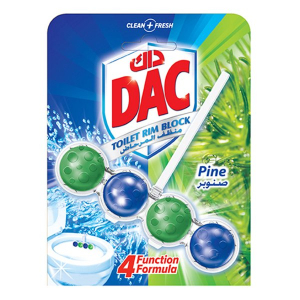 Dac Toilet Cleaner Power Active Pine 50g