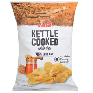 Master Kettle Cooked Potato Chips Honey And Mustard 3x170g