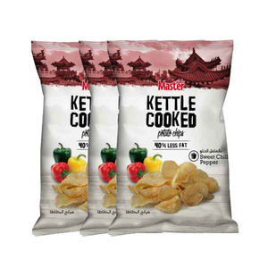 Master Kettle Cooked Potato Chips Sweet Chilli Pepper 3x170g