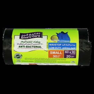 Enviro Care Anti-Bacterial Bio Degradable Wave Top Bag 60x90cm