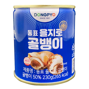 Dong Pyo Canned Bai Top Shell Whelk 230g