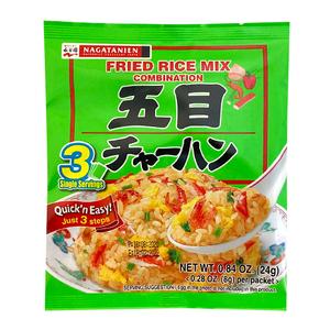 Nagatanien Fried Rice Mix Combination 24g