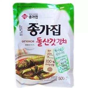Daesang Gat Kimchi Mustard Leaves Kimchi 500g