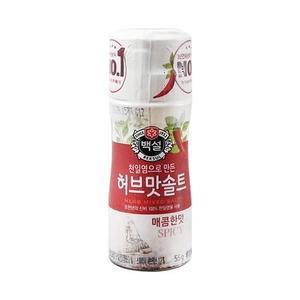 CJ Herb Flavored Salt Spicy 50g