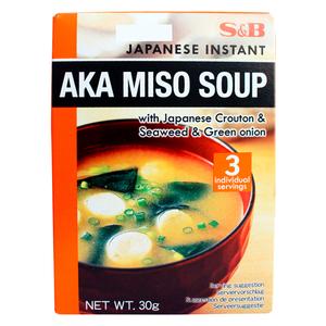 S&B Instant Aka Miso Soup 30g