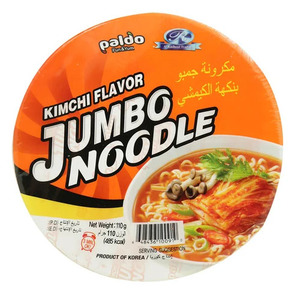 Paldo Jumbo King Bowl Noodle Kimchi Flavor 110g