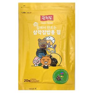 kwangcheonkim Kakao Friends Roasted Kimbab Seaweed Frame With Salt 20g