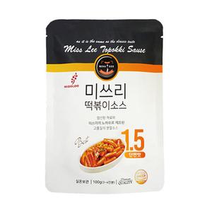 Misslee Korean Topokki Sauce No.1.5 Sweet And Salty 50g