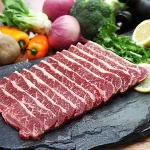 1004 Gourmet La Galbi Ribs Slice 1kg