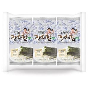 kwangcheonkim Master Kim Dosirak Seasoned Paprae Seaweed 4gx3