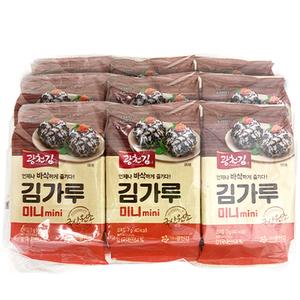 kwangcheonkim Mini Seasoned Sprinkle Topping Seaweed Powder 7gx9