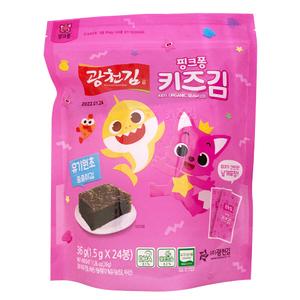 kwangcheonkim Organic Kids Crispy Juljul Seaweed 36g
