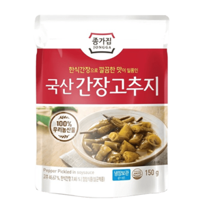 Daesang Pepper In Soy Sauce 150g