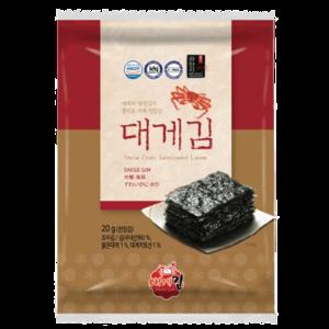 Daege Gim Snow Crab Laver Gift Set (20gx8)x7