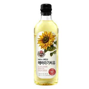 CJ Sunflower Oil 900ml