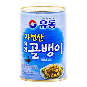 Yoo Dong Udong Canned Bai Top Shell Whelk 400g