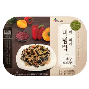On Skyfarm Vegetable Bibimbap Chilli Paste Flavor 215g
