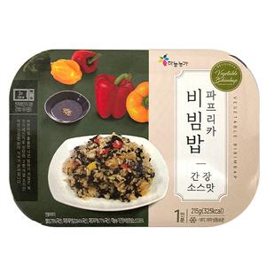 On Skyfarm Vegetable Bibimbap Soy Sauce Flavor 215g