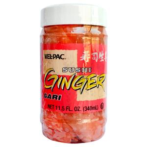 Wel-Pac Sushi Ginger Shouga 340ml