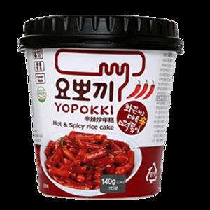 Youngpoong Yopokki Spicy Topokki Halal 140g