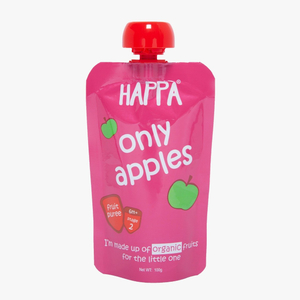 Happa Organic Apple Fruit Puree 100g