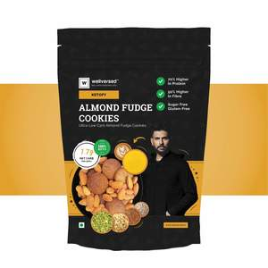 Wellversed Almond Fudge Cookies 400g