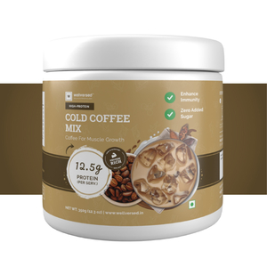 Wellversed High Protein Cold Coffee Mix 350g