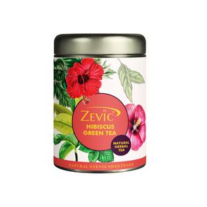 Zevic Hibiscus Herbal Green Tea 50g