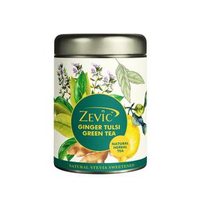 Zevic Ginger Tulsi Herbal Calming Tea 50g