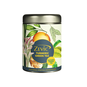Zevic Turmeric Herbal Green Tea 50g