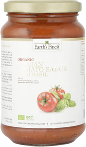 Earth's Finest Organic Tomato Sauce With Basil 340g